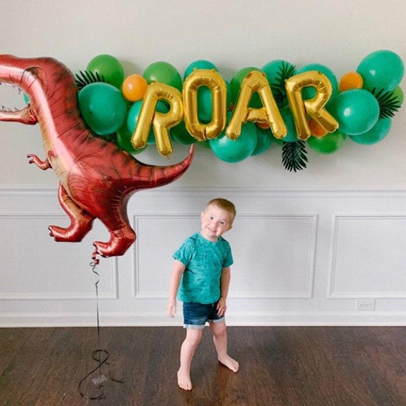 Balony z dinozaurami