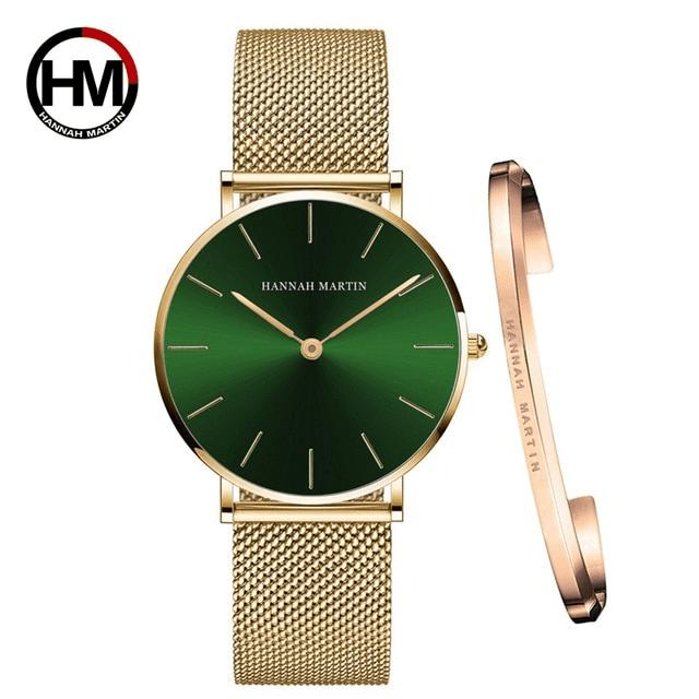 Klasyczny zegarek damski w kolorze złotym
