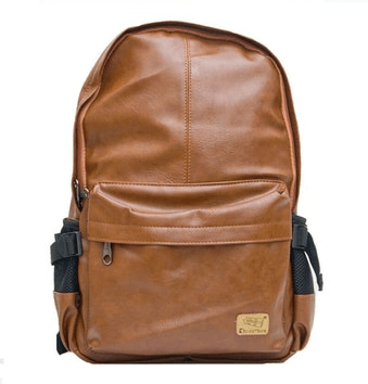 Plecak ze skóry brązowy