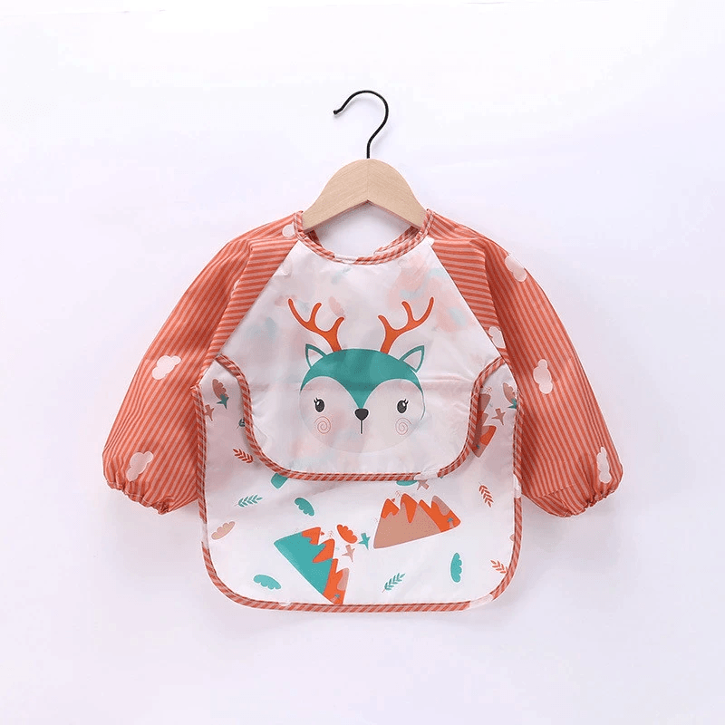 Koszulka dla dziecka z wbudowanym śliniaczkiem