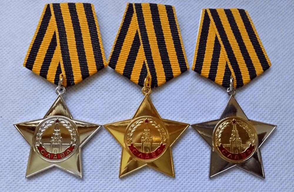Zestaw radzieckich medali replika